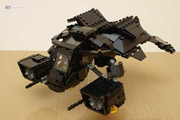 Make Your Own Batmans Tumbler And The Bat With LEGO