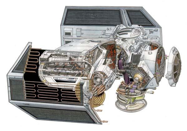 Star Wars Light Falcon Millennium