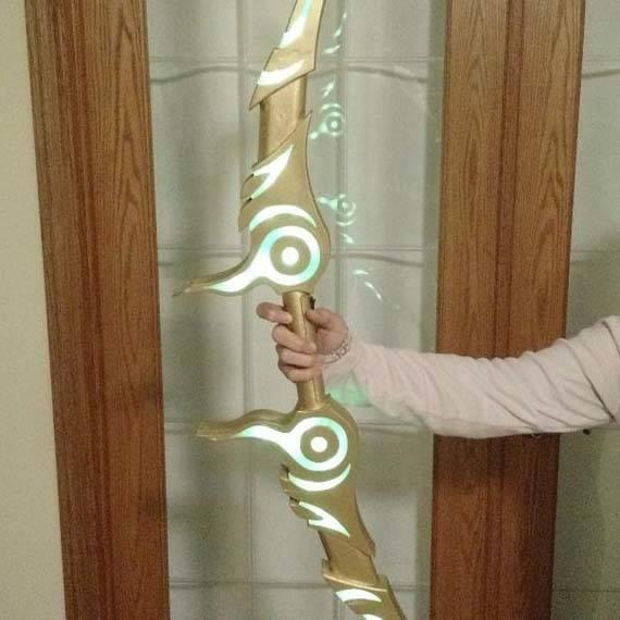 Make The Zeldas Bow Replica By Yourself Gadgetsin