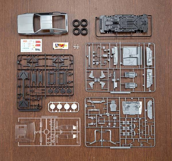 Back To The Future 1 24 Delorean Scale Model Kit Gadgetsin