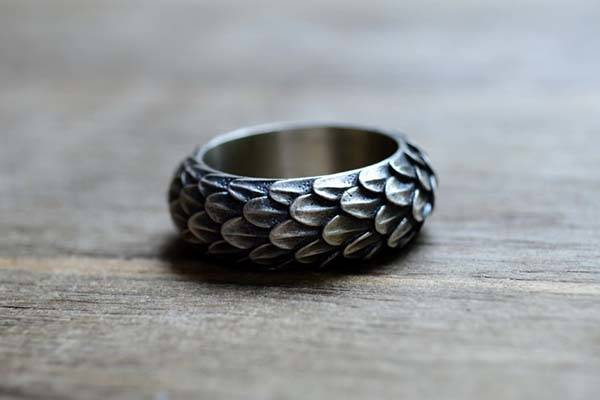 The Handmade Game Of Thrones Inspired Sterling Silver Ring