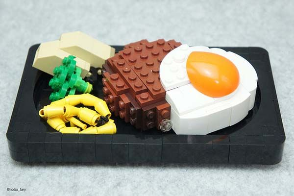 The Appetizing Dishes Built With Lego Bricks Gadgetsin