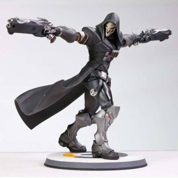 Blizzard Overwatch Limited Edition Reaper Statue Gadgetsin