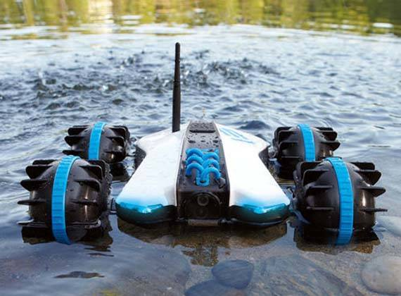 Rover Land Amp Sea Amphibious App Controlled Vehicle With Built In Camera Gadgetsin