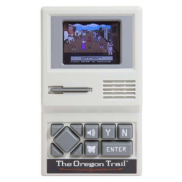The Oregon Trail Handheld Gaming Device Gadgetsin