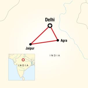 Altın Üçgen Hindistan Turu