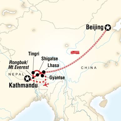Çin Tibet Nepal Turu