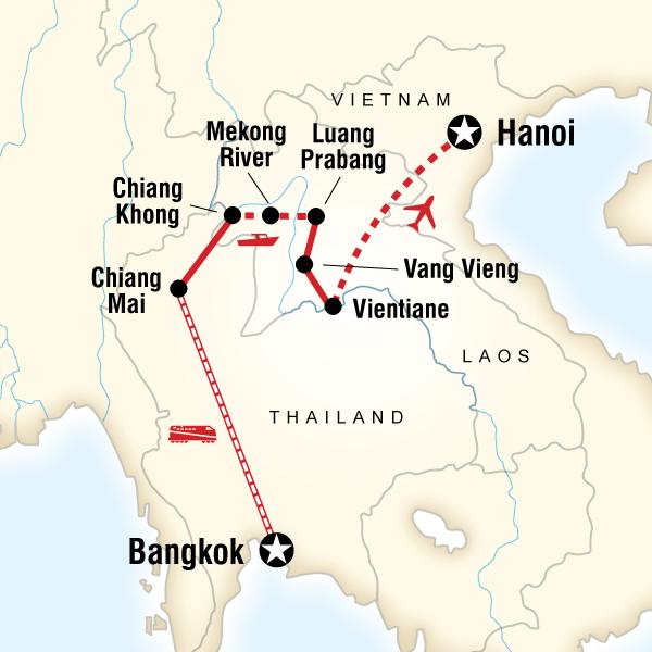Tayland Laos Vietnam Turu