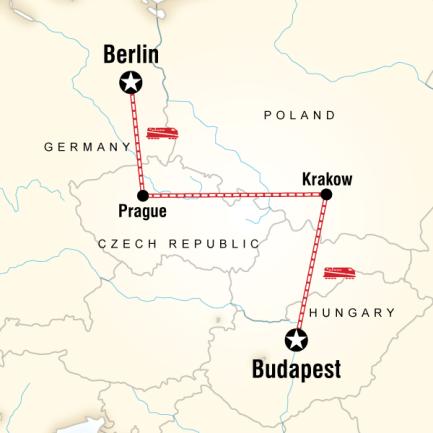 Orta Avrupa Turu - Berlin Prag Krakow Budapeşte
