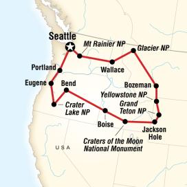 Amerika Milli Parkları Turu