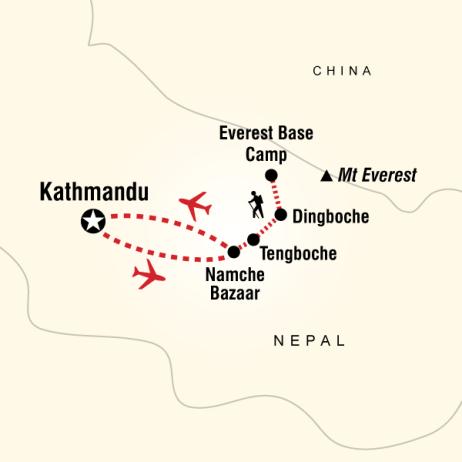 Everest Ana Kampı Trekking Turu