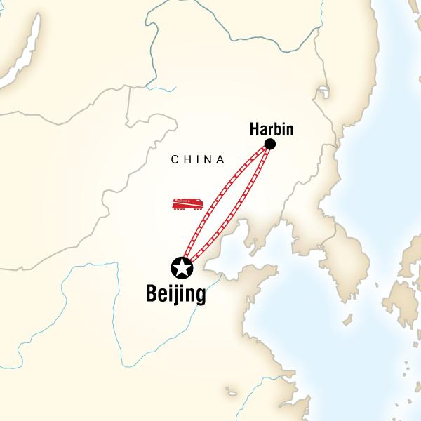Çin Harbin Buz Festivali Turu