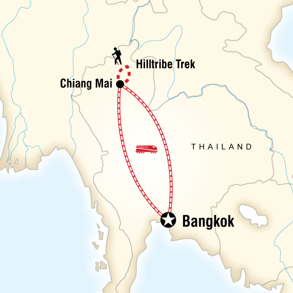 Kuzey Tayland Turu