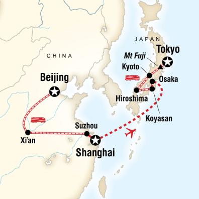 Çin Japonya Turu