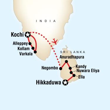 Kerala Sri Lanka Turu