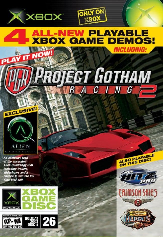 Official Xbox Magazine Demo Disc 26 Xbox IGN