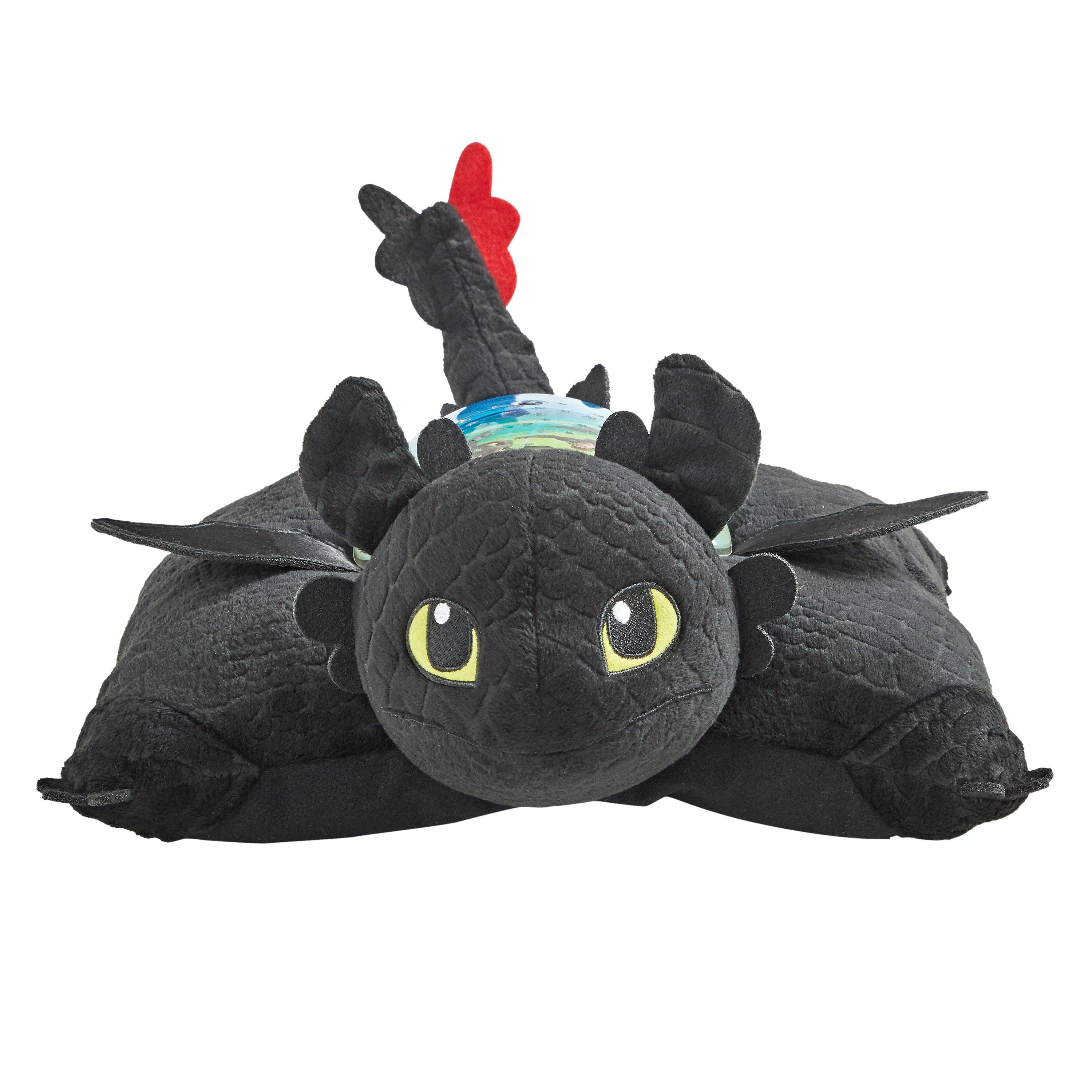 how to train your dragon toothless sleeptime lite pillow pet gamestop