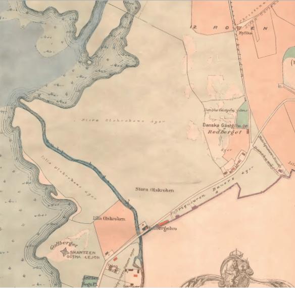 Stora och Lilla Olskroken 1790