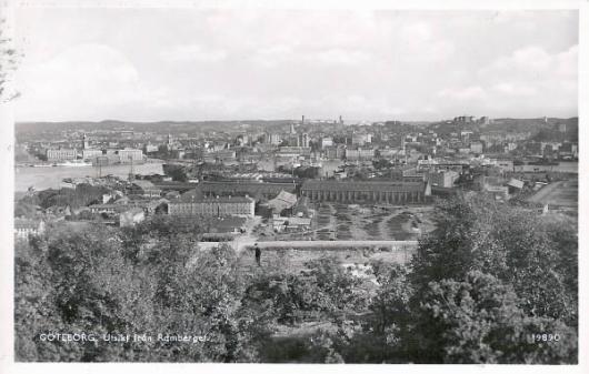 Utsikt över Lundbyvass med Götaverken
