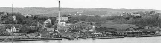 Färjestaden i början av 1900-talet