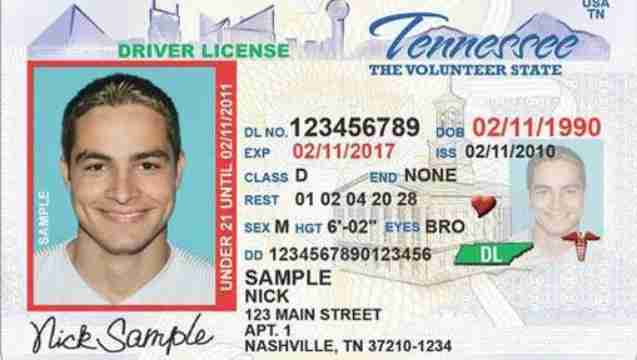 Tennessee Drivers License Revoked