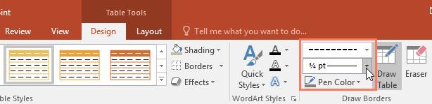 customizing the border style - www.office.com/setup