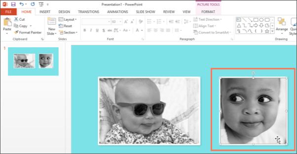 Screenshot of Microsoft PowerPoint