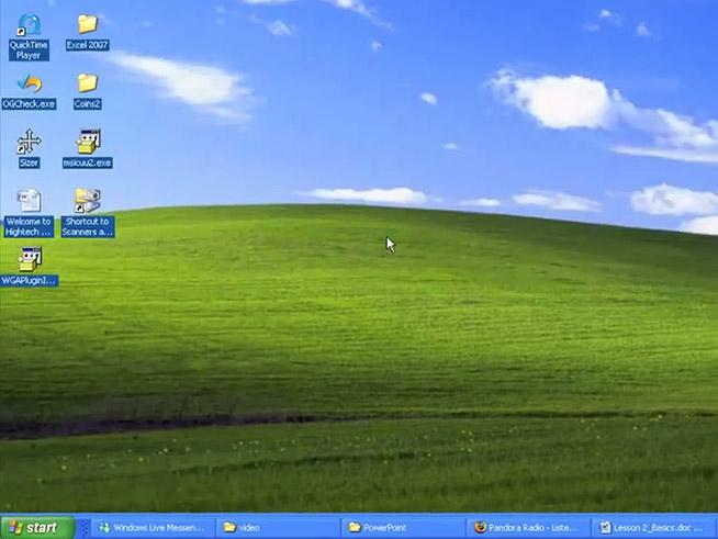 máy tính để bàn Windows XP