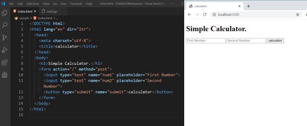 How HTTP POST request work in node.js ? | | Code4Developers