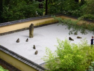 Jardin zen : un jardin à contempler