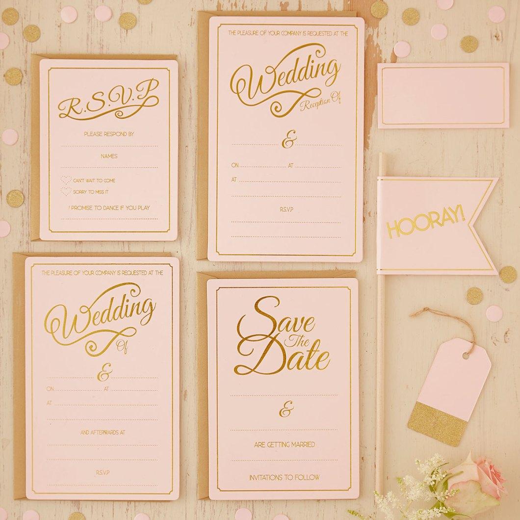 Cheap wedding invitations packs uk onvacationsite pastepastel perfection wedding invitations pack of 10 filmwisefo
