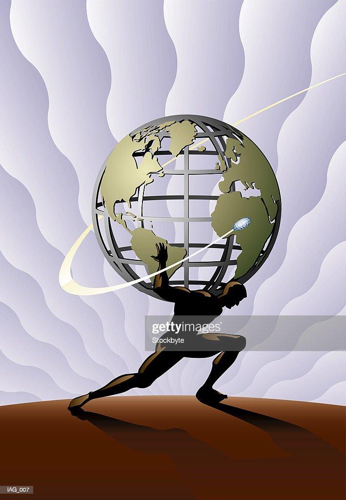 Atlas Holding World Shoulders Front