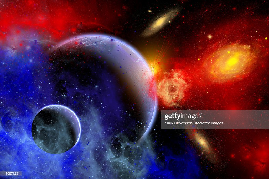 Planets stars nebulae galaxies pictures and ideas on nervesa - Galaxy and planets ...