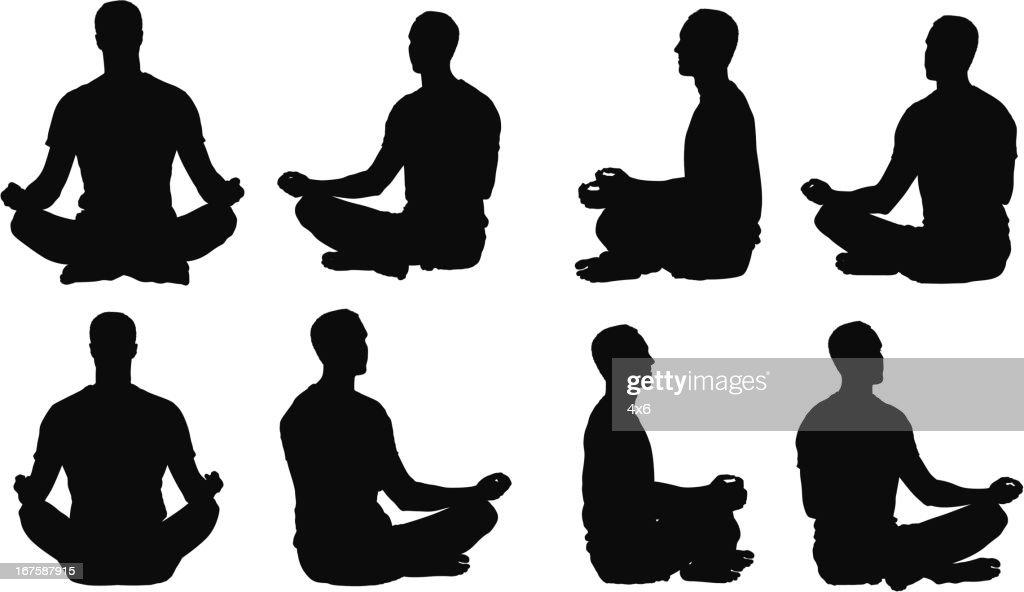 https www gettyimages fr illustrations assis en tailleur