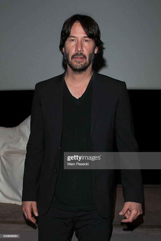 """Side by Side"" Paris Screening with Keanu Reeves At Hotel ..."