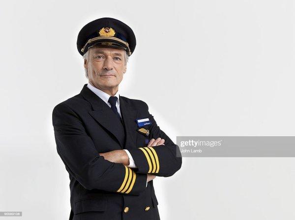 Airline Pilot Portrait Stock Photo | Getty Images