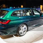 Alpina B3 Touring Bmw 5 Series Station Wagon On Display At Brussels News Photo Getty Images