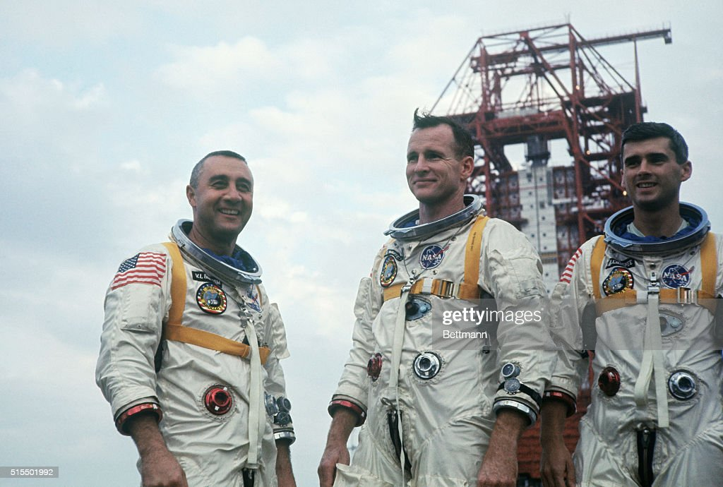 Portrait of the Apollo 1 Astronauts Pictures | Getty Images