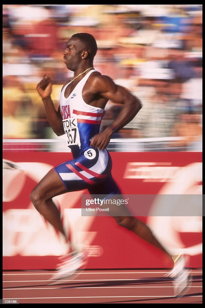 Michael Johnson Sprinter Stock Photos and Pictures | Getty ...
