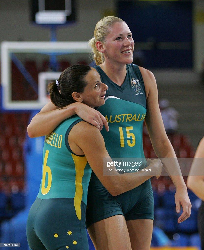Australian basketball players Sandra Brondello and Lauren ...