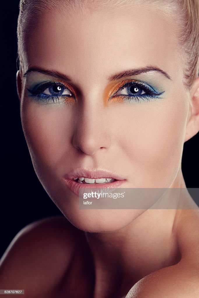 Blueeyed Beauty Stock Photo | Getty Images