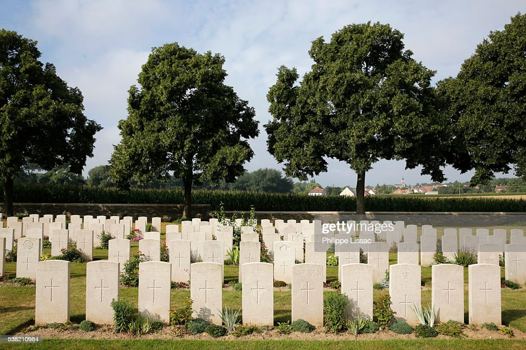 Browns Copse Military Cemetery Designed By Sir Edwin ...
