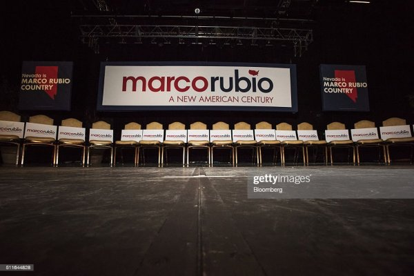 Presidential Candidate Marco Rubio Holds Las Vegas ...