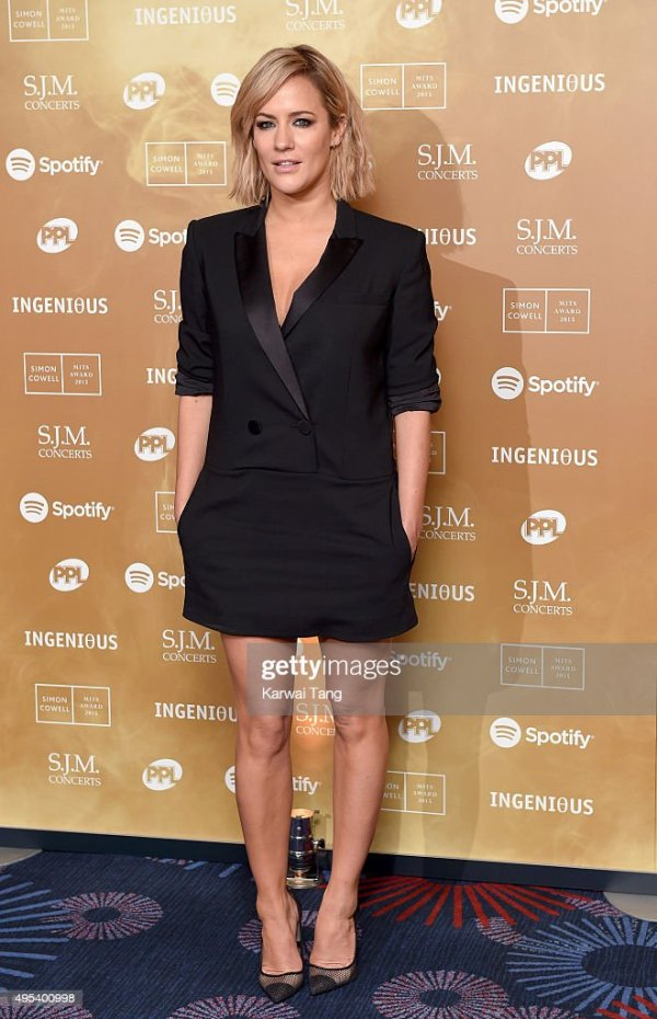 Caroline Flack attends the Music Industry Trusts Awards in ...