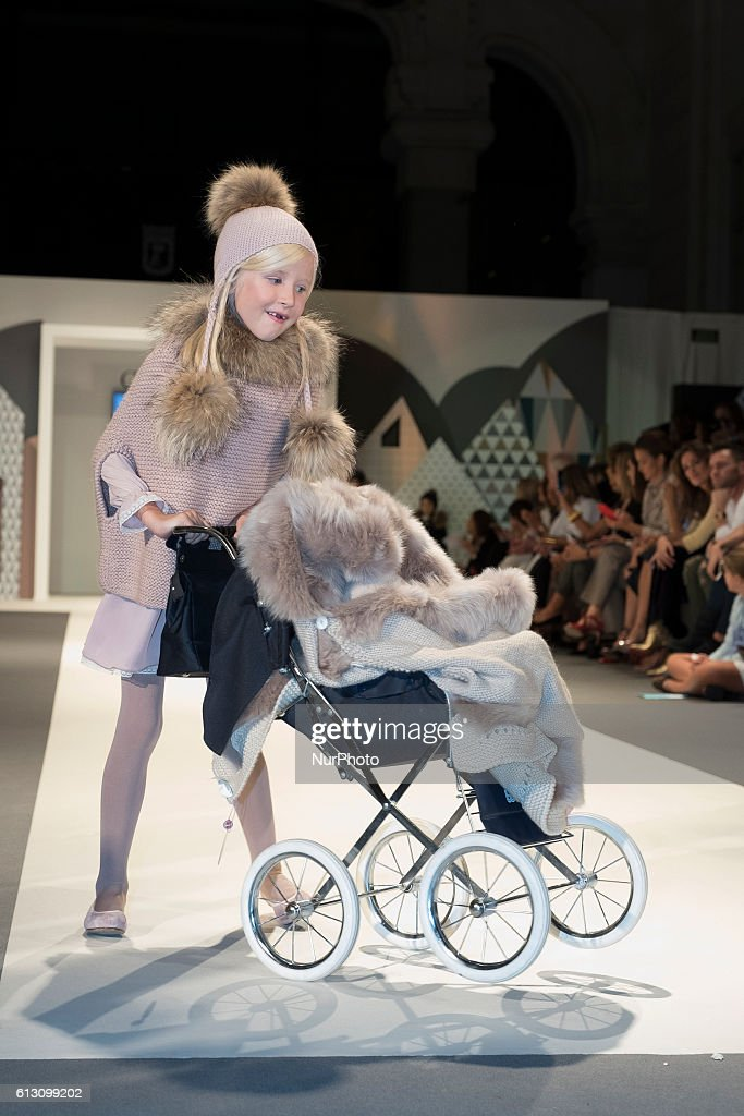 children s fashion parade inside the petite fashion week 2016 held at the palace of cibles of