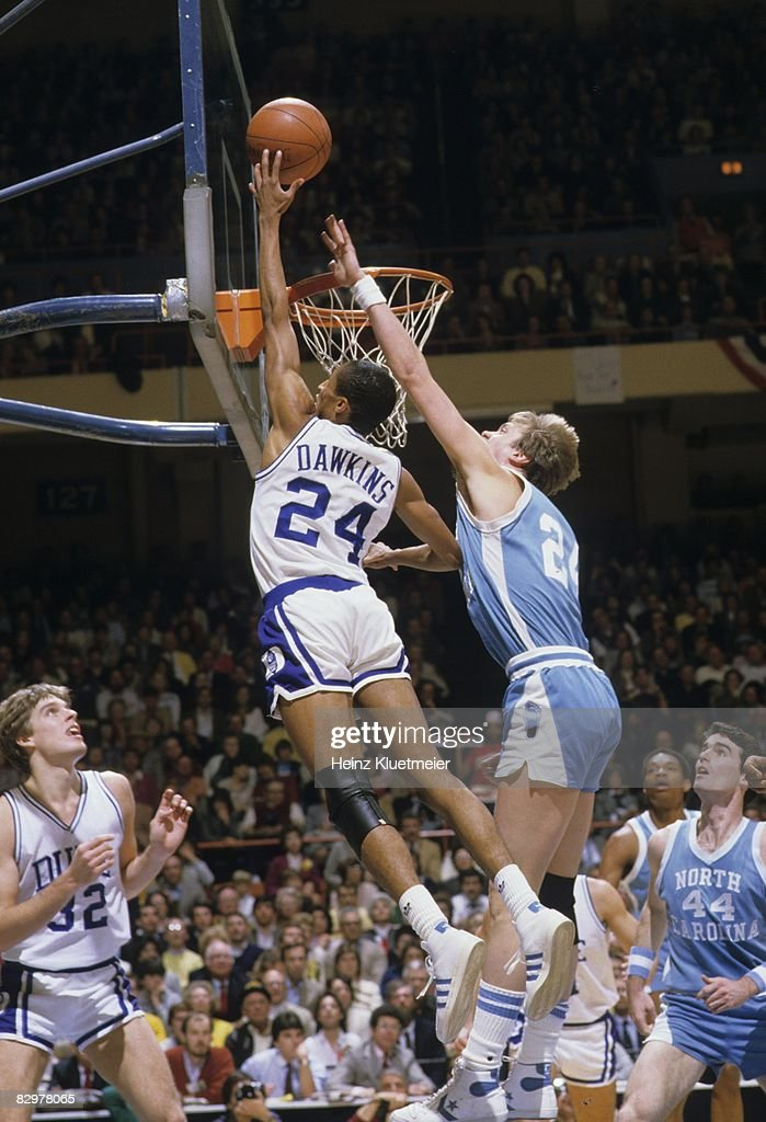 Duke Vs UNC Johnny Dawkins Pictures Getty Images