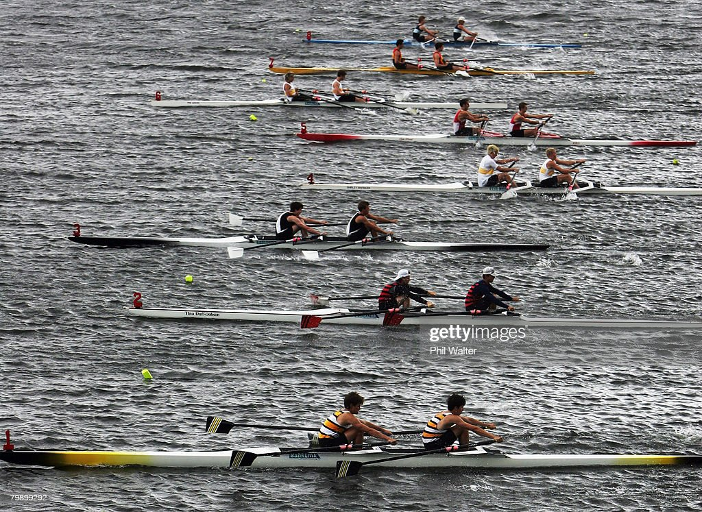 NZ Rowing Championships Photos and Images | Getty Images