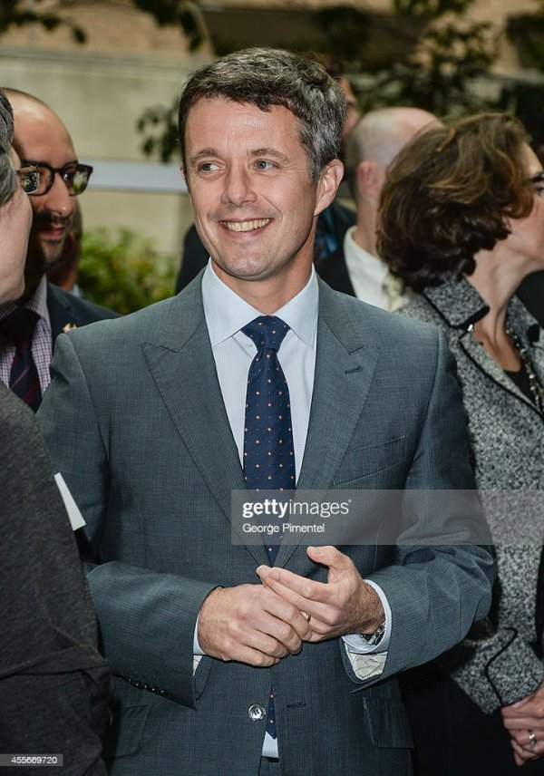 Crown Prince Frederik And Crown Princess Mary Of Denmark ...