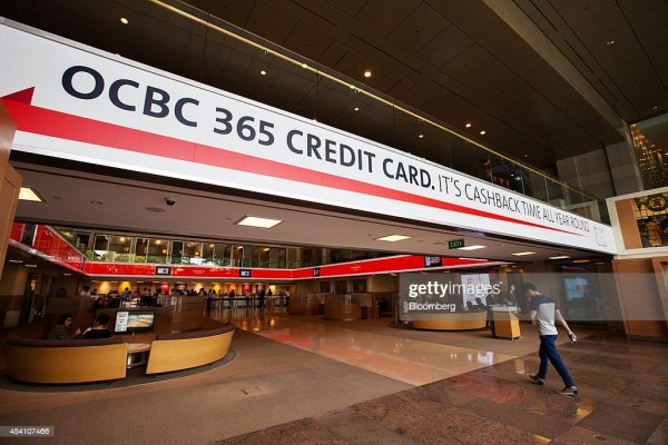 Inside OCBC And Wing Hang Bank Ltd. Bank Branches ...