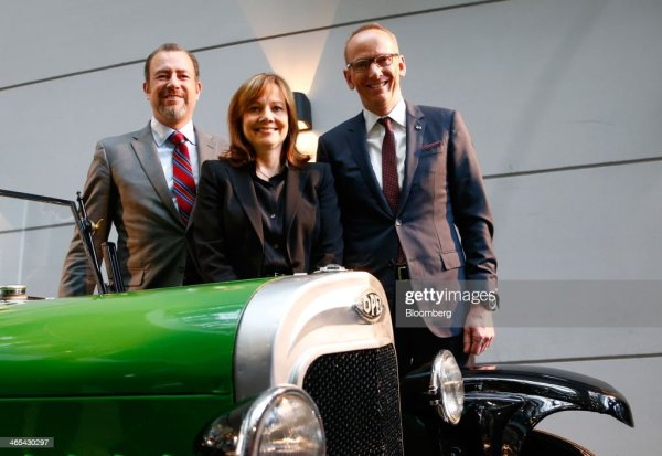 General Motors Co. Chief Executive Officer Mary Barra ...